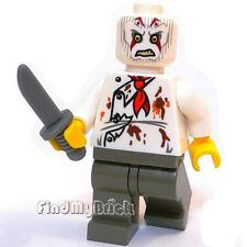 M171h78 Lego Zombie Chef Cook Joker Ghost Skeleton Pau'an Custom Minifigure NEW
