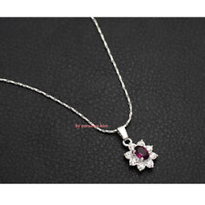 collana donna cristallo Swarovski elements viola elegante A170