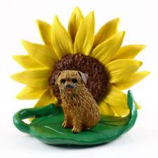 Norfolk Terrier Sunflower Figurine
