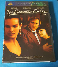 TOO BEAUTIFUL FOR YOU * SUPER RARE OOP * Pristine Condition * Brand NEW * DVD