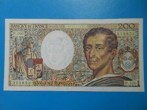 200 francs Montesquieu 1990 F70/10b NEUF