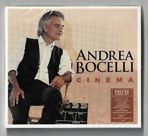 Andrea Bocelli - Cinema (2 CD Deluxe Edition) (2015) - NEW & SEALED