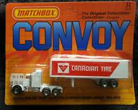 MATCHBOX CONVOY KENWORTH CANADIAN TIRE PETERBILT TRUCK - UNOPENED BLISTER PACK