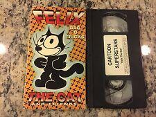 FELIX THE CAT AND FRIENDS BAG 'O TRICKS VHS VINTAGE CARTOON CLASSICS KIDS FAMILY