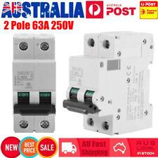 63a DC Breaker 250v Circuit Breaker 2p 2 Pole 63 Amp- Solar Isolator C65h-dc AU