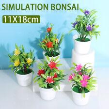 Künstliche Blumen Im Topf Bonsai Topfpflanzen Kunstpflanzen Home Garten Dekor