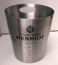 Stylish Henriot Aluminium Champagne Ice Bucket Cooler, Unused !
