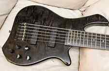 Zon Legacy Elite custom 6 string Graphite/Carbon Fiber Neck Thru Six String Bass