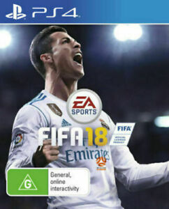 FIFA 18 PS4 Playstation 4 GAME GREAT CONDITION