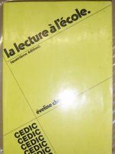 La lecture à l'école - Eveline Charmeux - Cedic - Education - Enseignement