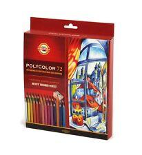 Crayons de couleur 72 Colours Polycolor Koh-i-noor 3837 Prix Super