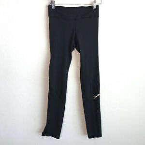 PEARL IZUMI Womens Cycling Tights Athletic Cropped Black Ankle Zipper Size Small