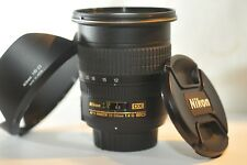 Nikon AF-S DX Nikkor 12-24mm F/4 G ED IF SWM lens HB-23 MINT for D7200 D7100 D90