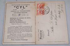 Mayfairstamps Mexico 1920s Radio QSL CYL La Casa Del Postcard wwh27203