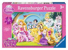 CHILDRENS DISNEY PALACE PETS 35 PIECE JIGSAW PUZZLE RAVENSBURGER