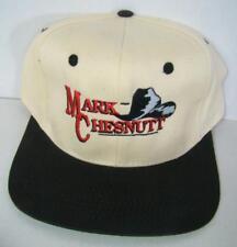 Vintage Snapback Hat Cap Mark Chesnutt Country Music Tour Hat Rare