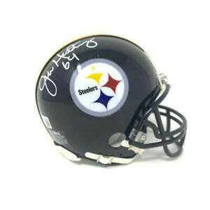 Jeff Hartings Autographed Pittsburgh Steelers Mini Helmet