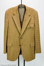True Vintage 70's Sport Coat Brown/Tan Pattern Steampunk Look Dr.Who Jacket 44