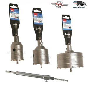 TCT Core Drill 50-110mm Shank Tungsten Masonry Brick Hole Cutter Bit SDS PLUS