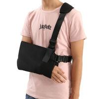 Sangle de soutien d'épaule avec bandoulière pour pochette haute, noir