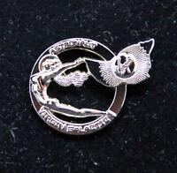 Pin VIRGIN GALACTIC ASTRONAUT metal pin tie tack silver replica