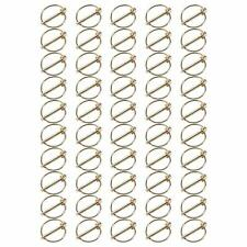 """Linchpins 50X 3/16"""" x 1-7/16"""" Lock Pin Clips Tractor Lynch Pin Tractor Set"""