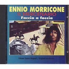 ENNIO MORRICONE - Il mercenario / Faccia a faccia NICOLAI CD OST 1995 NEAR MINT