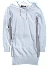 LORO PIANA 100% BABY CASHMERE HOODED SWEATER NEW 38 US S