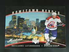 2007-08 Upper Deck UD Hometown Heroes #69 Guillaume Latendresse Montreal