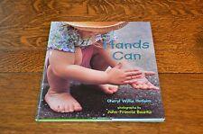 HANDS CAN - CHERYL WILLIS HUDSON & JOHN-FRANCIS BOURKE, BRAND NEW 2003 HARDCOVER