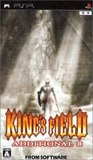 PSP King's Field: Additional II Japan PlayStation Portable F/S
