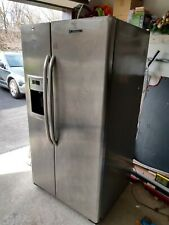 Ge Side By Side Stainless Steel Refrigerator, Gss25Gshss