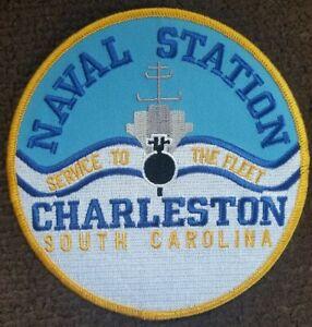US Navy Patch Service To The Fleet Naval Station Charleston South Carolina