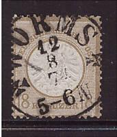 Deutsches Reich, 28, gestempelt, Brustschild (21126)