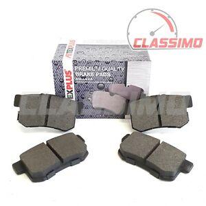 Rear Brake Pads for HONDA CIVIC Mk 7 + INTEGRA DC2 DC5 + S2000 - 1998 to 2009