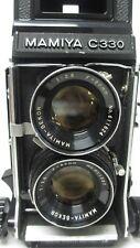 Mamiya C330 Professional F TLR camera with Sekor 80mm f2.8 lens W/ Kodak Film