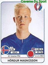 HORDUR MAGNUSSON ICELAND AC.CESENA  RARE UPDATE STICKER EURO 2016 PANINI
