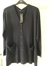 MArks And Spencers Navy Cardigan New Size 26