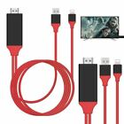 8 Pin Lightning To HDMI Cable HDTV AV Adapter For Apple iPad Mini iPhone 5 6 7