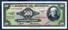 MEXICO, P-51t, 500 PESOS, 18-1-1978, UNC