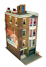 O gauge (7mm) 1:43 scale Model Railway Trains APARTMENT BUILDING Kit CityBuilder