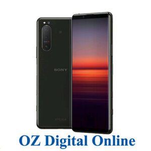 NEW Sony Xperia 5 II Dual 5G 256GB XQ-AS72 Black (8GB) Unlocked Phone 1 YrAuWty