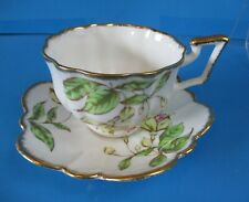SALISBURY CUP & SAUCER  NICE SHAPE SAUCER YELLOW FLOWERS EXCELLENT CONDITION