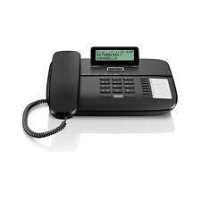 Gigaset DA710 schnurgebundenes Analog Telefon schwarz Komforttelefon