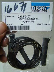 Harley FXR XL Softail FL Dyna Oil indicator lamp red NOS Drag 2212-0107 EPS16671