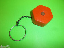 """NEW REPLAC  McCULLOCH BLOWER TRIMMER 1 1/2"""" FUEL CAP WITH CHAIN"""
