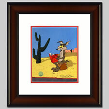 Chuck Jones Hand Signed Animation Cel WILE E COYOTE Frame ACME CATALOGUE COA fr.