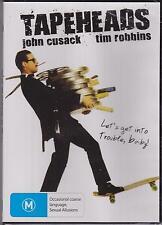 TAPEHEADS - JOHN CUSACK - TIM ROBBINS - DVD - NEW -