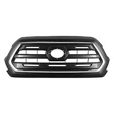 2016 2017 2018 Toyota Tacoma Grille Black Frame with Chrome TO1200409