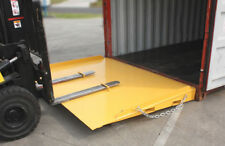 Container Ramp 8000KG 2320x1800 Container Entry Platform with Raised Side Plates